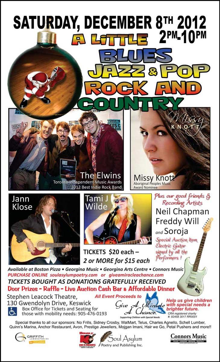 Children's Benefit Concert Poster