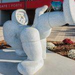 York University outdoor sculpture
