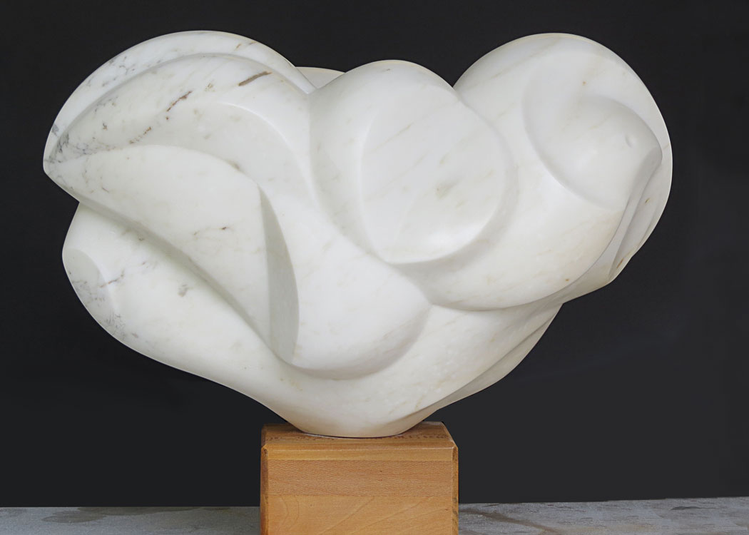 Yeon-Tak Chang marble sculpture
